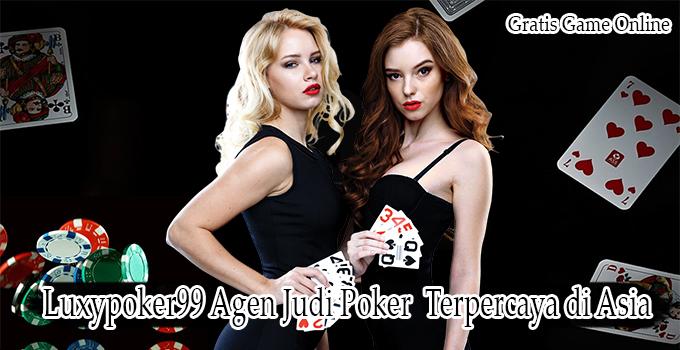 Luxypoker99 Agen Judi Poker Online Terpercaya Pemain Asia